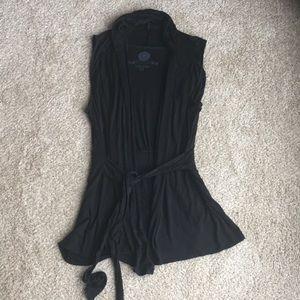 Anthropologie layering vest
